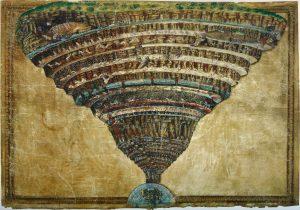 O Inferno de Dante, por Sandro Botticelli