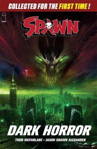 Capa do encadernado Spawn: Dark Horror